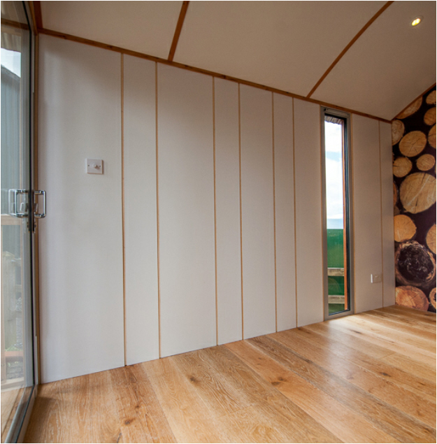 Painted Wood Panelling