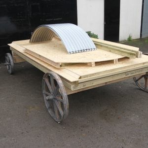 Shepherd's Hut Flat Pack