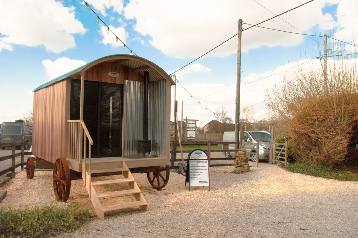 Visit Our New Show Hut At The Old Potato Yard
