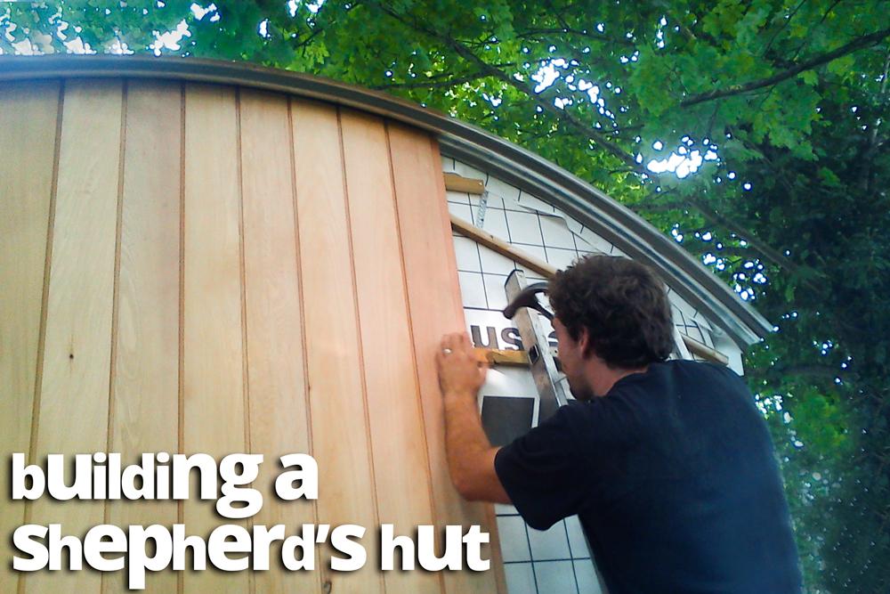 build shepherd's hut