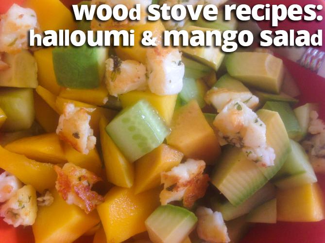 how to cook halloumi on stove