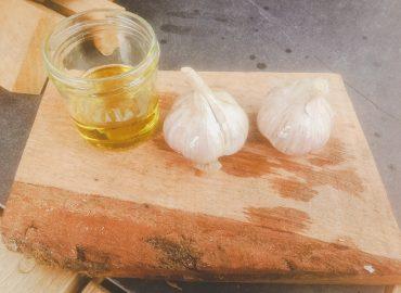 Wood Stove Recipes: Roasted Garlic