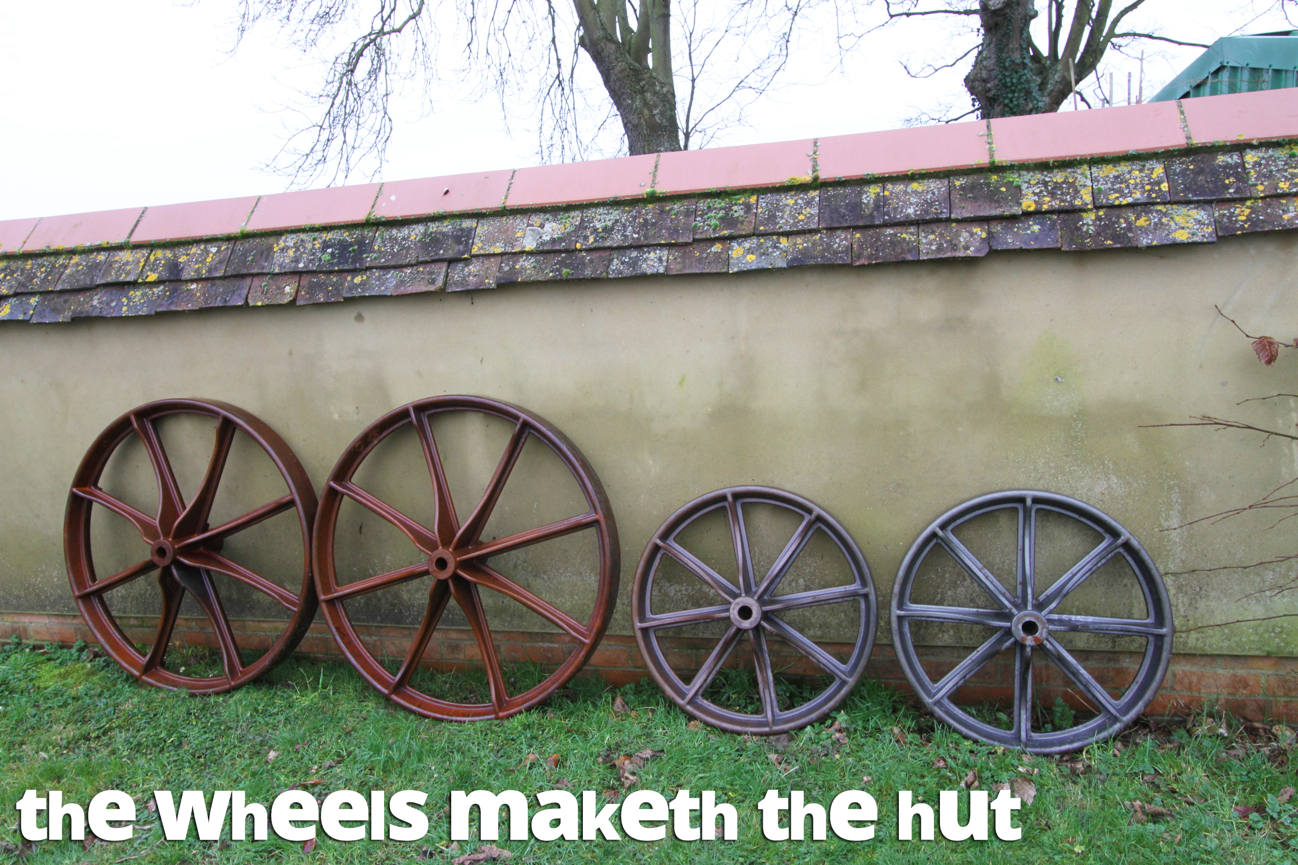 shepherd's hut wheels