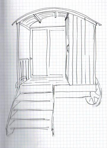 bespoke shepherd's hut