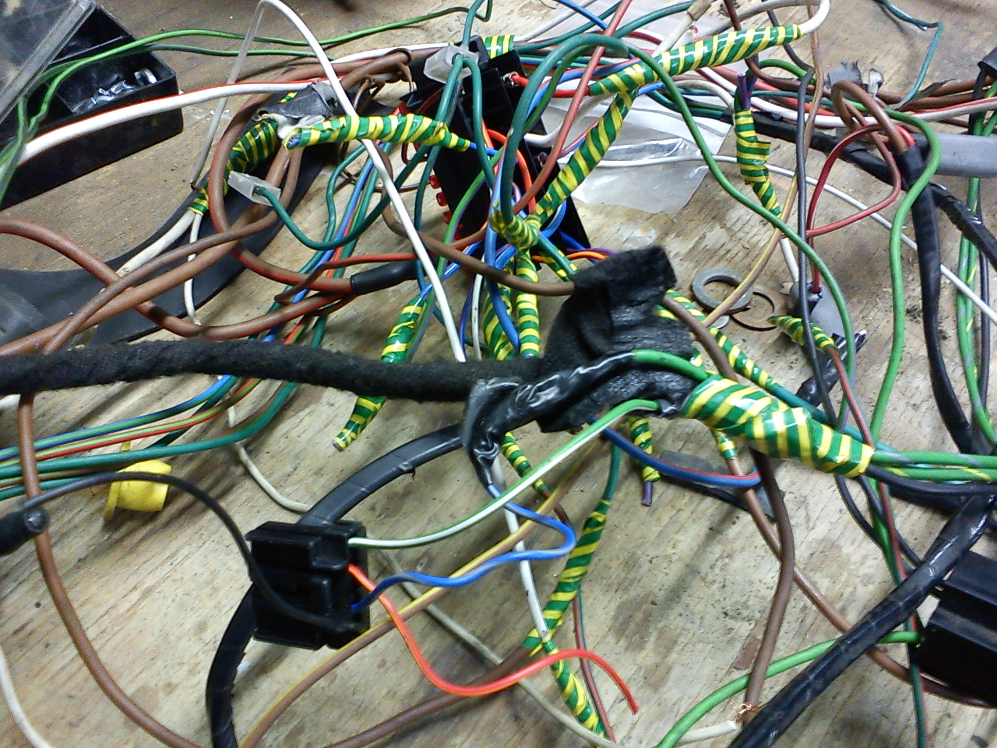'New' Landrover wiring loom