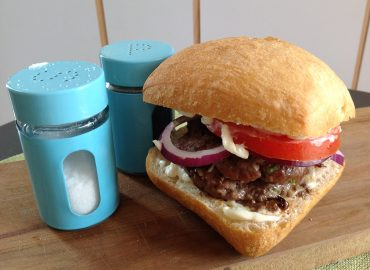 Woodstove Recipes: Secret Stilton Burgers