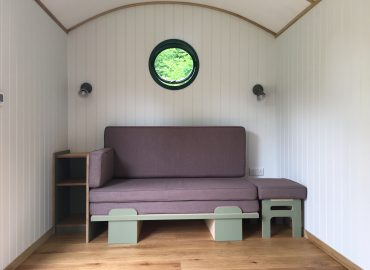 The 'and how does that make you feel?' shepherd's hut