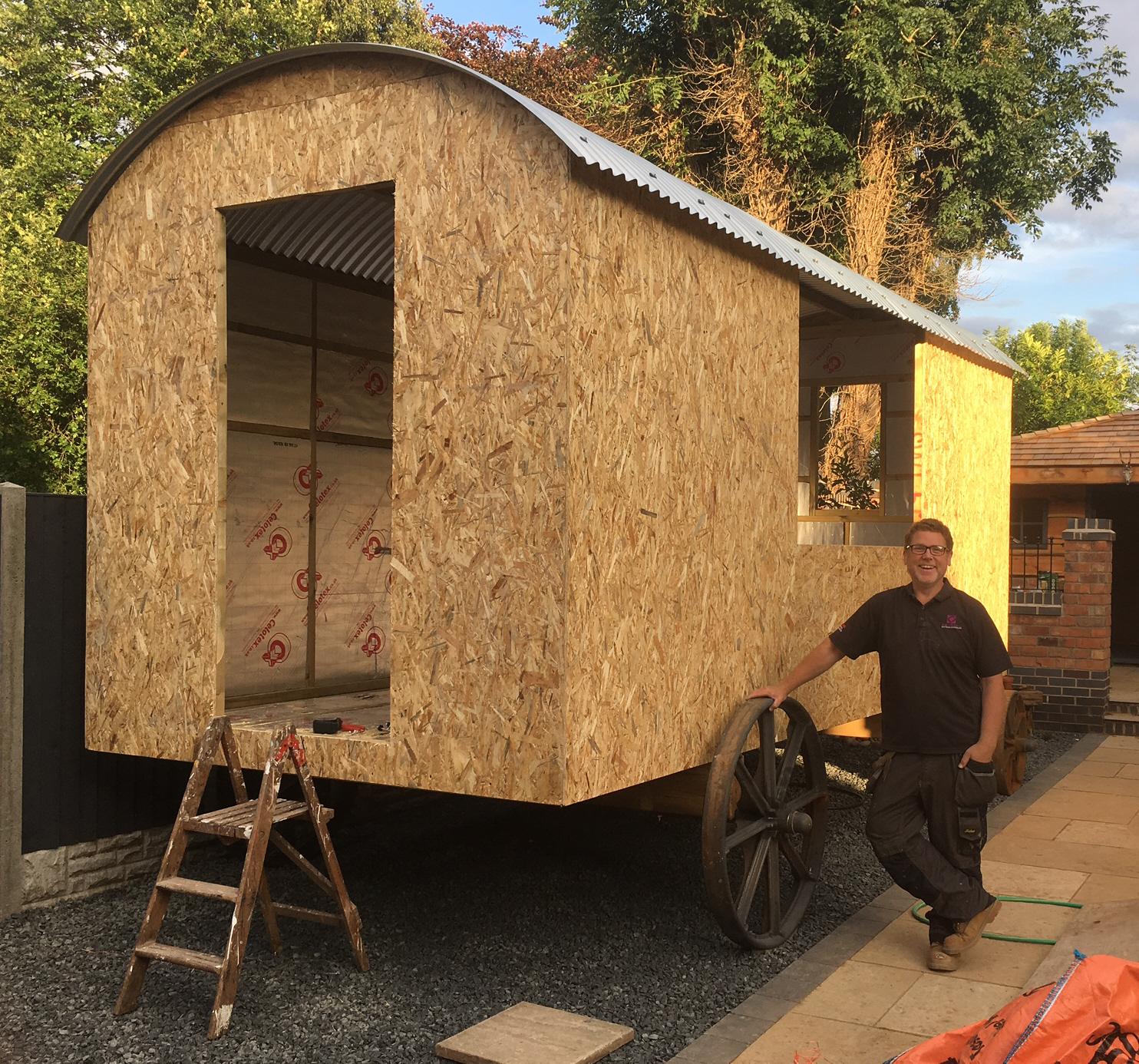 Shepherd Hut Floor Plans: Build Your Own Shepherd's Hut In 2019!